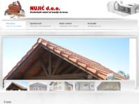 Slika naslovnice sjedišta: Nujić d.o.o. građevinski radovi (http://www.nujicdoo.hr)