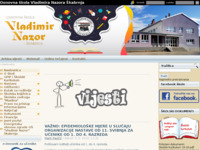 Slika naslovnice sjedišta: Osnovna škola Vladimira Nazora Škabrnja (http://www.os-vnazora-skabrnja.skole.hr)