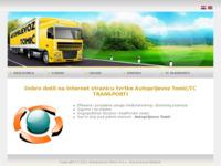 Slika naslovnice sjedišta: Autoprijevoz Tomić (http://www.autoprijevoztomic.hr/)