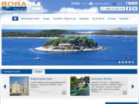 Frontpage screenshot for site: Bora Tours - Travel Croatia - putnička agencija, Zadar (http://www.boratours.hr)
