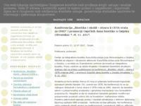 Frontpage screenshot for site: Okolišno novinarstvo (http://okolisnonovinarstvo.blogspot.com)