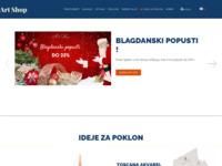 Slika naslovnice sjedišta: Art Shop (http://www.artshop.hr/)