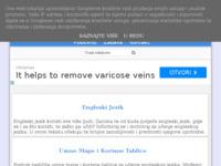 Frontpage screenshot for site: Učenje engleskog jezika (http://ucenje-engleskog-jezika.blogspot.com/)