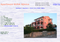 Frontpage screenshot for site: Apartmani Bura - Njivice (http://www.apartmaniburanjivice.com)