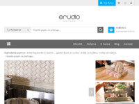 Frontpage screenshot for site: (http://www.erudio-usluge.hr)