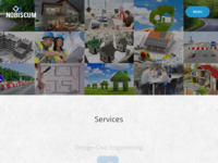 Frontpage screenshot for site: Nobiscum d.o.o. za projektiranje i usluge (http://www.nobiscum.hr)
