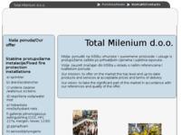 Slika naslovnice sjedišta: Total Milenium d.o.o. (http://www.TotalMilenium.hr)