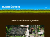 Frontpage screenshot for site: Bunari Škrobot (http://bunariskrobot.yolasite.com/)