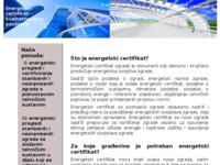 Slika naslovnice sjedišta: Energetski certifikati i energetski pregledi stambenih i nestambenih zgrada. (http://www.energetskicertifikati.com.hr)