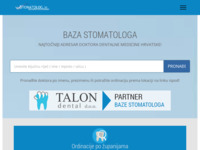 Frontpage screenshot for site: Stomatolog.in - Baza stomatologa (http://www.stomatolog.in)