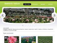 Slika naslovnice sjedišta: Staklenik Valtura - Prodaja i proizvodnja cvijeća (http://www.staklenik-valtura.hr/)