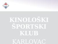 Slika naslovnice sjedišta: Kinološko Športski Klub - Karlovac (http://www.ksk-karlovac.hr)