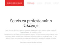 Slika naslovnice sjedišta: Superm - Servis za profesionalno čišćenje (http://www.supermservis.hr)