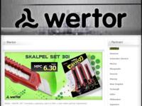 Frontpage screenshot for site: Wertor ekskluzivni svijećnjaci (http://www.wertor.eu)