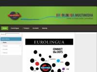 Frontpage screenshot for site: Eurolingua Multimedia - centar za strane jezike i prevođenje (http://www.elm.com.hr)