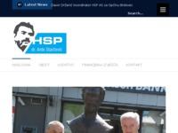 Frontpage screenshot for site: Hrvatska stranka prava dr. Ante Starčević (http://hsp-ante-starcevic.hr)