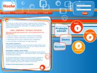 Frontpage screenshot for site: HOOLA profesionalne web stranice za 99 kuna mjesečno (http://www.hoola.hr)