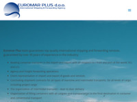 Slika naslovnice sjedišta: Euro Mar plus d.o.o. (http://www.euromar.hr)