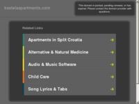 Frontpage screenshot for site: Apartmani Kastela (http://www.kastelaapartments.com)