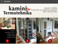 Frontpage screenshot for site: Kamini Termotehnika, proizvodnja i ugradnja kamina (http://www.kamini-termotehnika.com/)