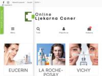 Frontpage screenshot for site: Moja Online Ljekarna (http://www.mojaljekarna.hr)