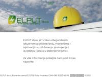 Slika naslovnice sjedišta: Elput d.o.o. (http://www.elput.hr)