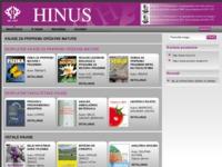 Frontpage screenshot for site: Hinus - knjige za pripremu držvne mature (http://www.hinus.hr)