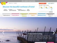 Frontpage screenshot for site: Službene stranice sjeverozapadne Istre, Hrvatska (http://www.coloursofistria.com)