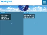 Slika naslovnice sjedišta: Plivački klub Posejdon (http://www.pk-posejdon.hr)