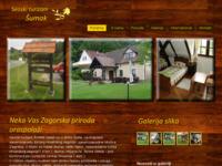 Slika naslovnice sjedišta: Seoski turizam Šumak (http://www.seoski-turizam-sumak.hr)
