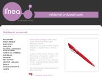 Frontpage screenshot for site: Reklamni proizvodi (http://www.reklamni-proizvodi.com/)