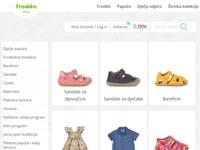 Frontpage screenshot for site: Ivančica d.d., proizvodnja obuće i trgovina (http://shop.ivancica.hr)
