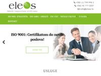Slika naslovnice sjedišta: Eleos Savjetovanje d.o.o. (http://www.eleos.hr)