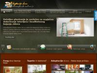 Slika naslovnice sjedišta: Bojanje stana sa Adaptacije d.o.o. (http://bojanje-stana.com/)
