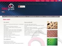 Frontpage screenshot for site: SBG Grupa (http://www.sbggrupa.com)