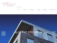 Slika naslovnice sjedišta: Alu-art (http://www.aluart.hr)