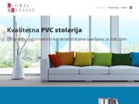 Slika naslovnice sjedišta: Proizvodnja PVC stolarije, aluminijskih ograda, garažnih vrata (http://www.globalka.hr)
