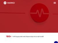 Slika naslovnice sjedišta: Marker.hr - web agencija specijalizirana za izradu web trgovina, programiranje po mjeri i virtualne (http://www.marker.hr)