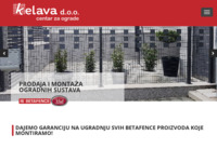 Frontpage screenshot for site: Centar za ograde (http://kelava.com.hr)