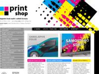 Slika naslovnice sjedišta: Print Shop (http://www.print-shop.hr)