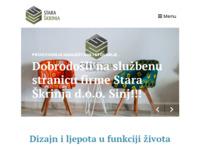 Slika naslovnice sjedišta: Stara škrinja d.o.o. - Proizvodnja namještaja Sinj (http://www.stara-skrinja.com)