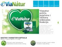 Slika naslovnice sjedišta: ViaNatur - Prirodna viagra bez recepta (http://www.vianatur.hr)