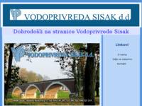 Slika naslovnice sjedišta: Vodoprivreda Sisak d.d. (http://www.vodoprivreda-sisak.hr)