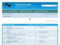 Frontpage screenshot for site: Muzika Harmonike (http://www.muzikaharmonike.com)