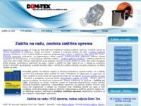 Slika naslovnice sjedišta: Zaštita na radu - Dom-Tex (http://www.dom-tex.hr)