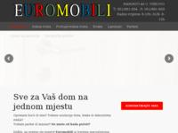 Slika naslovnice sjedišta: Euromobili - Viškovo (http://www.euromobili.hr)
