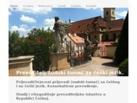 Frontpage screenshot for site: Sudski tumač za češki jezik (http://www.bohemia.com.hr)