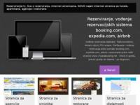 Frontpage screenshot for site: Usporedite hotelske cijene - Zajamčeno najbolja cijena (http://www.rezerviranje.hr)