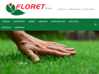 Slika naslovnice sjedišta: Floret d.o.o. (http://floret.hr)