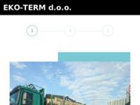Frontpage screenshot for site: Eko-term d.o.o. Prodaja pelata, ogrjevnog drveta i peći za pelet i drvo. (http://www.eko-term.hr)